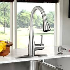 Kitchen Faucet Placement Kitchen Faucet With Soap Dispenser Delta Velino Pull Kitchen