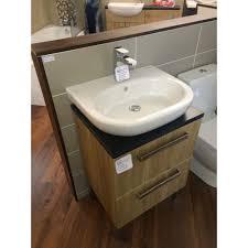 Free Standing Vanity Units Bathroom Roca Meridian N Freestanding Vanity Unit With Basin And Tap Oak