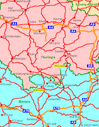 bamberg germany map road map 3 franconia eisenach gotha erfurt airport weimar apolda