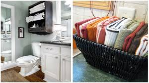36 towel storage ideas for small bathrooms youtube