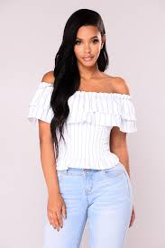 light blue off the shoulder top off shoulder top light blue