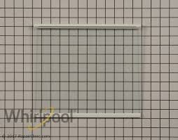 Replacement Glass Shelves by Glass Shelf Wpw10527849 Whirlpool Replacement Parts