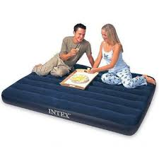 Intex Sofa Bed Intex Full Classic Downy Air Bed Outdoor Sporting Goods