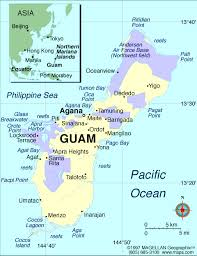 guam on map their hometowns agana heights agat barrigada 2 chalan pago
