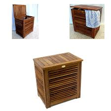 wooden laundry hamper with lid bathroom interesting brown wooden laundry hamper with lid for
