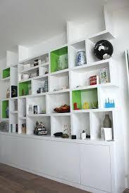 built in wardrobe shelf designs bookshelf wall shelves design