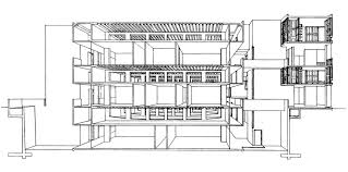 Louis Kahn Floor Plans by Narrow Space Designing The Interstitial