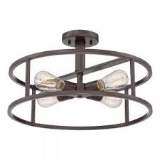 Bronze Ceiling Light with Decor Cool Home Lighting Using Semi Flush Mount Lighting