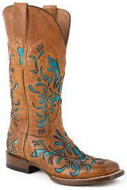womens boots handmade womens handmade turquoise underlay cowboy boots