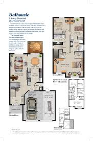 barrie heritage south dalhousie floor plan pratt homespratt homes