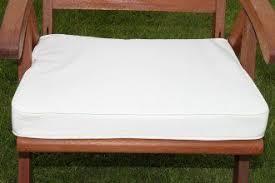 Cream Garden Bench Uk G Cream Beige Large Square Garden Furniture Chair Cushion Seat