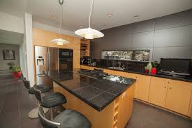 Black Countertop Kitchen by Absolute Black Granite Tile Considerations In Black Granite Tile