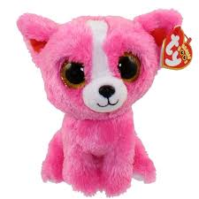 amazon pashun ty beanie boo regular pink chihuahua toys