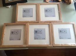 Ikea Ribba Find More New Ikea Ribba Natural Photo Frames For Sale At Up To