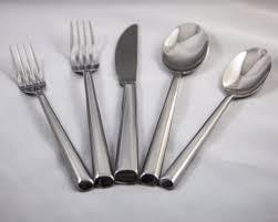 ghata 20 pieces modern flatware set service 4 compare to oneida