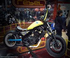 custom honda 2017 honda rebel 300 custom yellow motoadvr moto adventurer