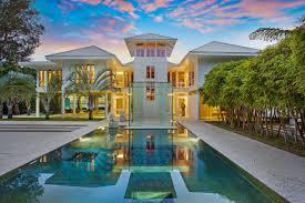 florida gulf coast home features water focused landscape design