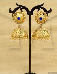 jhumka earrings intricate design antique jhumka earrings