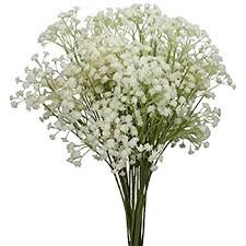 baby s breath flowers duovlo 10pcs babies breath flowers 23 6 artificial