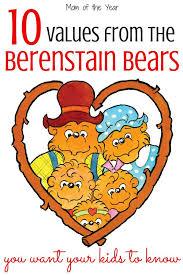 berenstien bears 10 school values the berenstain bears taught us moty