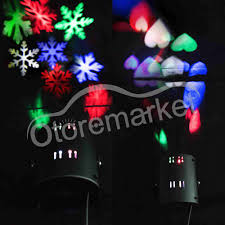 wall christmas light show moving projector laser led light show home garden christmas decor