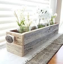 large planter box barnwood box coffee table tray reclaimed