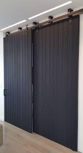 Sound Dening Interior Doors Black Oak Sliding Room Dividers Insulate And Sound Deadening Non
