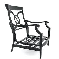 Motion Patio Chairs Motion Chairs Patio Furniture St Cast Aluminum Club Chair By Frame