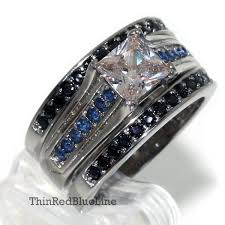 thin blue line wedding band 11 best jewelry images on thin blue lines rings and