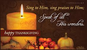 sing to him sing praises to him speak of all his wonders happy