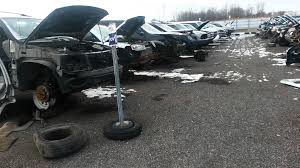 car junkyard michigan u s auto salvage sterling heights review cars youtube