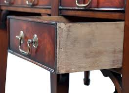 Antique Style Writing Desk Mahogany Chippendale Writing Desk