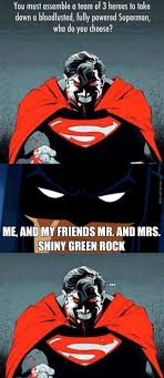 Superman Better Than Batman Memes - the batman vs superman movie is going to be just grand by