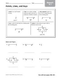 lines rays and line segments worksheets name line segments lines and rays worksheets free 35859162