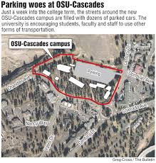Osu Parking Map Osu Cascades Lowers Parking Cost On Campus Cheaper Parking And