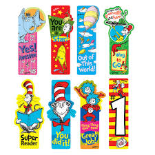 dr seuss assorted gift wrapping paper dr seuss school supplies dr seuss incentive bookmark shop geddes