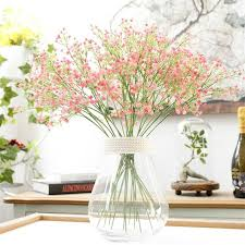 silk baby s breath 1 pc artificial babys breath gypsophila silk flowers bouquet