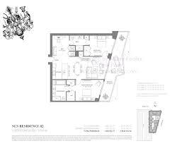Icon Brickell Floor Plans Sls Brickell Residences