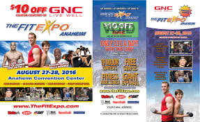 thefitexpo anaheim marketing