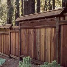 wood fences designs this wood privacy fence is designed