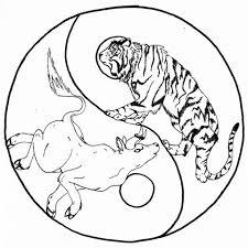 yin yang tiger panther by aylaofzeladonii on deviantart