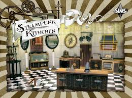 sims 4 cc u0027s the best steampunk kitchen by sims 4 designs