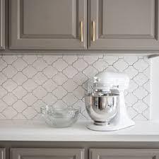 kitchen backsplash ideas with white cabinets houzz 75 beautiful kitchen with cement tile backsplash pictures