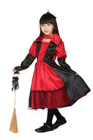 Girls Witch Halloween Costume Buy Wholesale Red Witch Costume China Red Witch