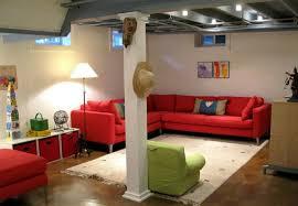 Unfinished Basement Ideas On A Budget Modern Design Inexpensive Unfinished Basement Ideas 9
