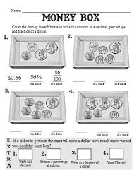 printables and worksheets to go with the book fractions decimals