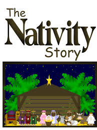 the nativity play for kids great activity for christmas eve or