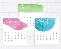 Small Easel Desk Calendar Mini 2018 Desk Calendar Desk Calendar 2018 Calendar Mini