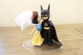 batman wedding topper snow white and batman cake topper wedding cake topper snow