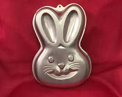 bunny cake mold easter cake pan etsy